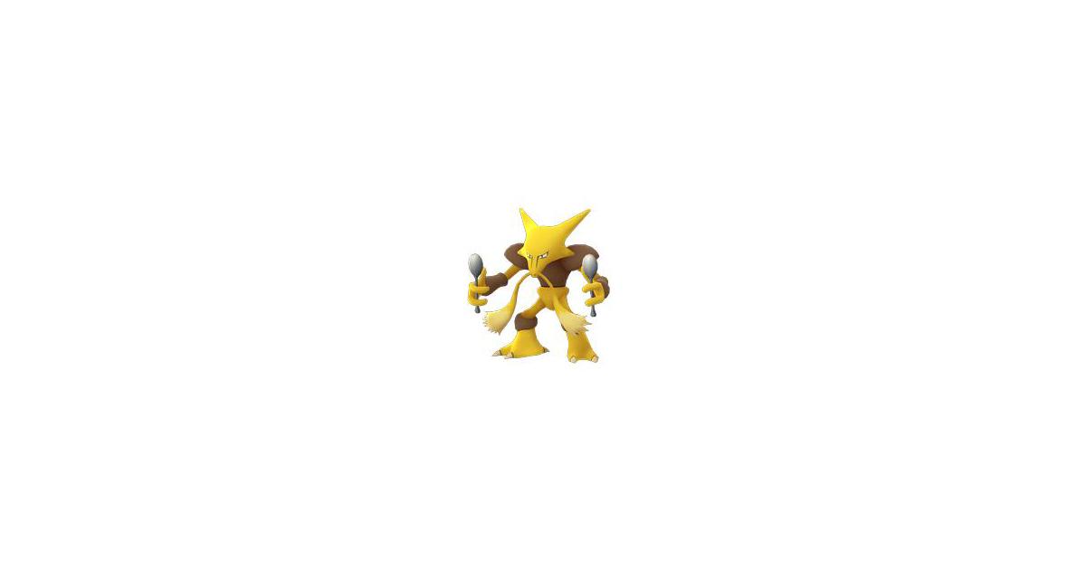 Pokémon Go Alakazam Evolution, Locations, Nests, Moveset ...