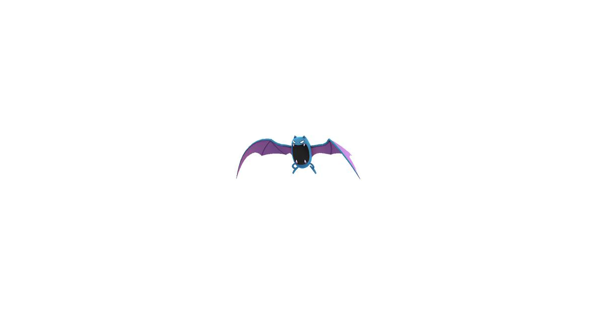 Pokemon Golbat Evolution Images