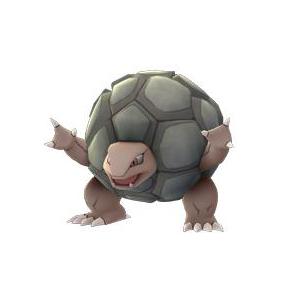Rùa đá Golem chính là hình mẫu điển hình của việc đao thương bất nhập.