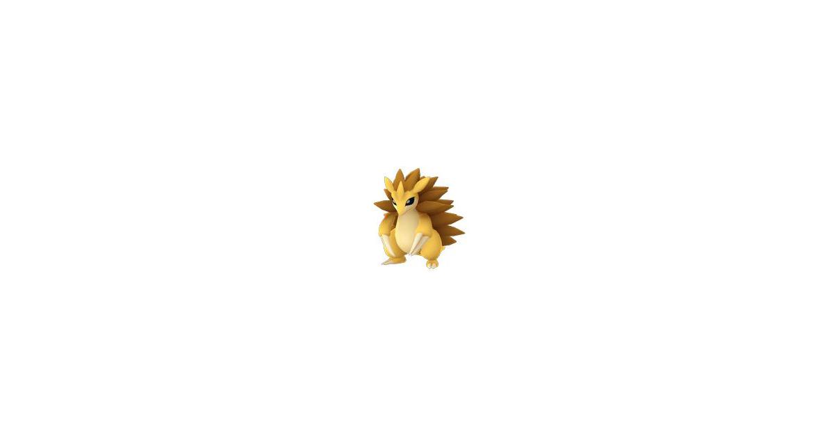 Pokémon Go Sandslash Evolution, Locations, Nests, Moveset ...