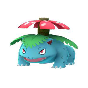Pok mon go venusaur evolution locations nests moveset - Pokemon florizarre ...